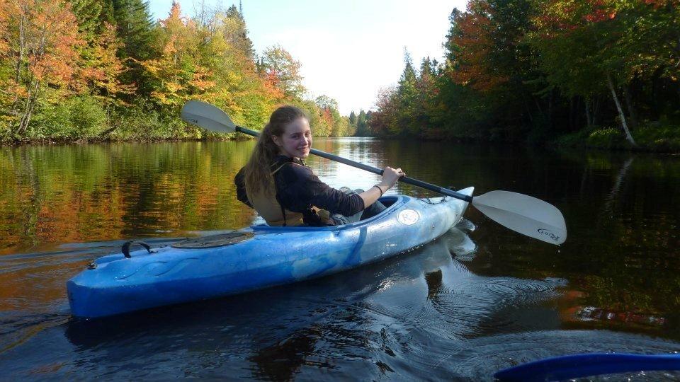Catherine Gagnon, Canoe Excursion